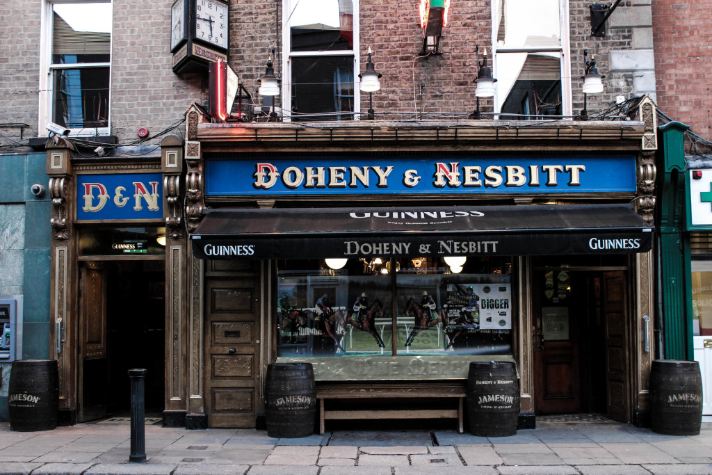 Keg-lined and alluringly old fashioned - Doheny and Nesbitt's exterior