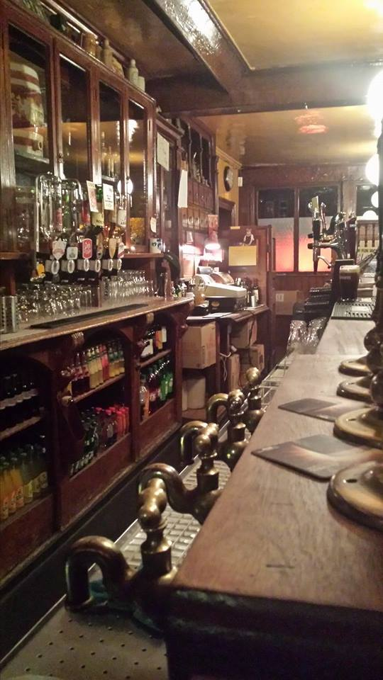 The well-preserved, old fashioned bar of John Kavanagh
