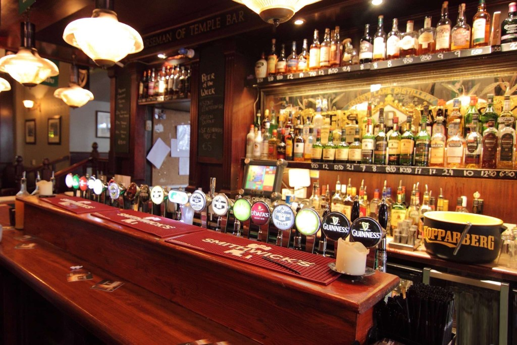 The norseman dublin pubs for Bar food dublin 2